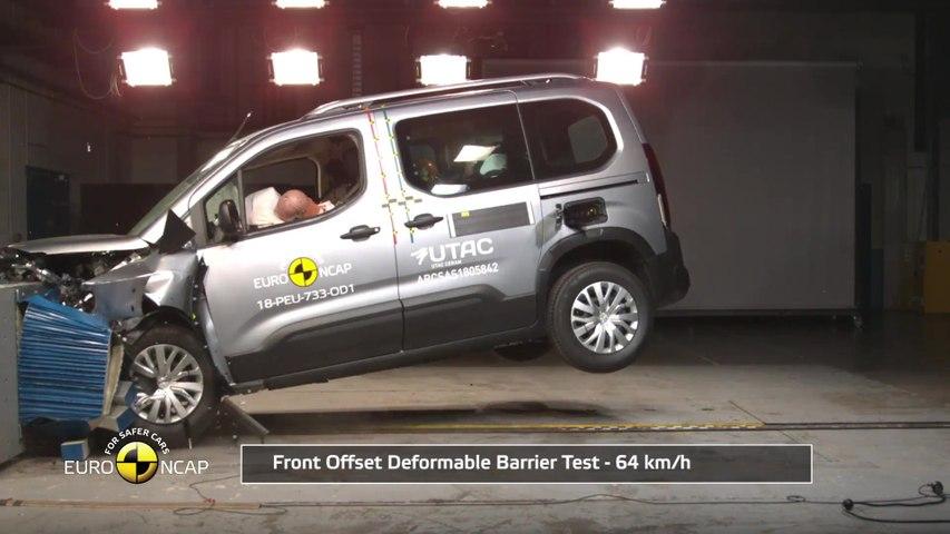 Peugeot Rifter - Crash Tests 2018
