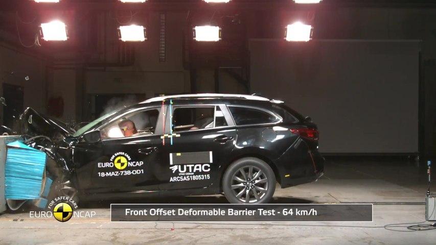 Mazda 6 - Crash Tests 2018