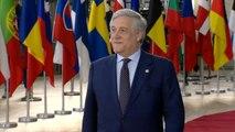 """Antonio Tajani - ein Italiener zwischen den Stühlen: """"Das ist kein Kampf zwischen Brüssel und Rom"""""""