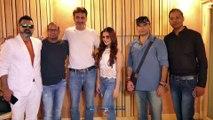 Kangna Sharma, Mohit Chauhan & Others At Song Recording Of 'Dahisar Check Naka'