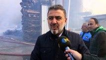 Esenyurt'ta fabrika yangını - Esenyurt belediye başkanı açıklama (6) - İSTANBUL