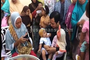 Mengunjungi Warga Terdampak Gempa Lombok Part 1