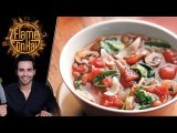 Tomato and Spinach Soup Recipe by Chef Basim Akhund