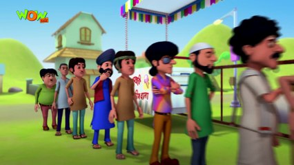 Motu Patlu in Hindi   Hero No.1   Cartoon for Kids   Wow Kidz