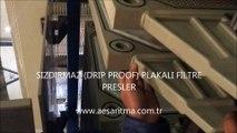 TAM SIZDIRMAZ  PLAKALI FİLTRE PRESLER-FILTER PRESSES WITH DRIP PROOF PLATE
