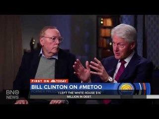 Bill Clinton Defends Handling of Monica Lewinsky Scandal