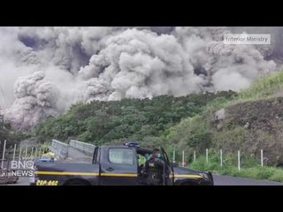 Volcano Erupts in Guatemala, Killing at Least 25 People