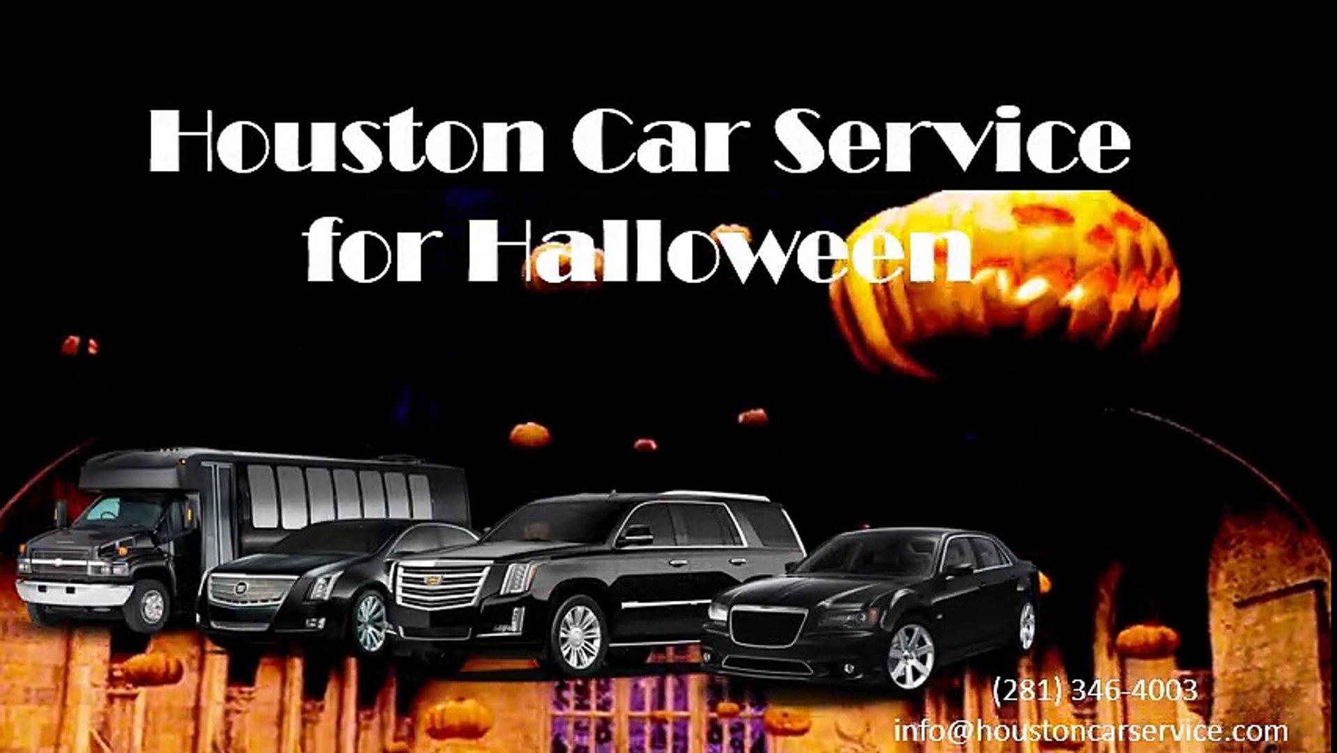 Car Service Houston >> Houston Car Service For Halloween