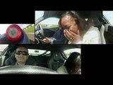 Ferrari baptism at Goodwood: scary female passenger ride