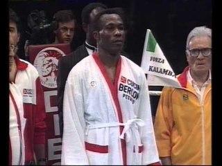 Sumbu Kalambay V Mike Macallum WBA Middleweigh Title