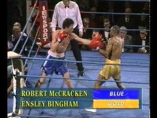 Robert McCracken Vs Ensley Bingham