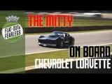 On board brutal V8 Corvette takes pole and spins at Road Atlanta