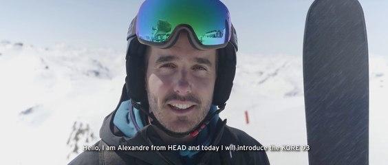 Ski HEAD Kore 93 2018 [ Service Platinum ] 2018 2019