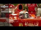 Kimi Raikkonen in F1 Ferrari at Goodwood