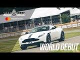 World debut Aston Martin DB11 V8 at FOS