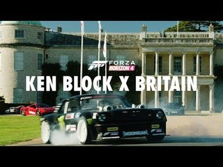 Ken Block tears up Goodwood with Forza Horizon. 4