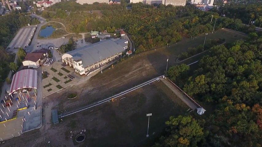 Парк развлечений Лавина, Днепр. Как выглядит Лавина с высоты