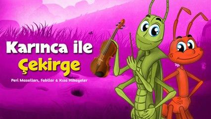 Karınca ile Çekirge - Adisebaba Klasik Masallar | Okidokido