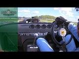 On board rare Ferrari 250 GTO/64 at Revival