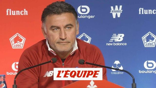 Pour Galtier, le PSG est «incontestablement» pénalisé par le niveau de la Ligue 1 - Foot - L1 - LOSC