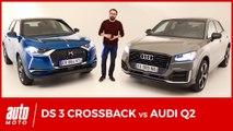 DS3 Crossback vs Audi Q2 : premier face-à-face