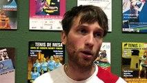 Tennis de table (Ligue des Champions) : réaction de Loïc Preghenella après Carthagène - Etival