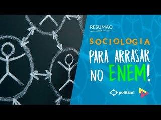 SOCIOLOGIA PARA O ENEM! | Prof. Fábio Monteiro | Vestibular em Cena