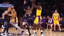 Los Angeles Lakers vs Denver Nuggets 1st Half Highlights   10252018, NBA Season
