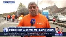 """Ascoval : """"Aujourd'hui on met un coup de pression sur Vallourec pour sauver nos 280 emplois"""" explique ce salarié"""