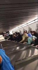 Un accident d'escalator fait 20 blessés