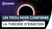Un trou noir supermassif confirme la relativité générale d'Einstein