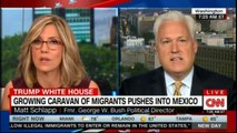 Former George W. Bush Political  Director Matt Schlapp speaking on Growing Caravan of migrants pushes into Mexico. #CNN #News #Mexico #Caravan #Migrants #MattSchlapp