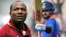 India VS West Indies 3rd ODI: Brian lara hails Virat Kohli on 10000 ODI runs | वनइंडिया हिंदी