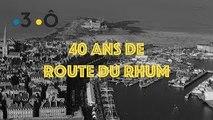 En 2006, Lionel Lemonchois sur l'autoroute du Rhum - 40 ans de Route du Rhum - #18