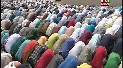 Magal 2018 - La prière du vendredi à la Grande Mosquée de Touba