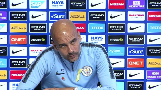 Manchester City manager Pep Guardiola talks of a five-way battle for the EPL title
