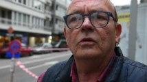 Marquages repeints à Liège: un commerçant arrêté par la police