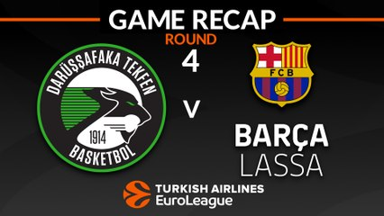 EuroLeague 2018-19 Highlights Regular Season Round 4 video: Darussafaka 71-79 Barcelona