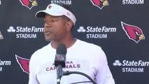 Steve Wilks discusses the Cardinals' tough situation - ABC15 Sports