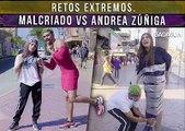 Retos extremos. Malcriado vs Andrea Zúñiga. Badabun. Retos extremos. Malcriado vs Andrea Zúñiga. Badabun.