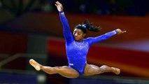 Unwell Simone Biles dominates gymnastics worlds in Doha