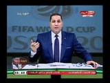 عبد الناصر زيدان يغني ويتمايل علي الهواء في استهزاء وسخرية من ك  شوبير