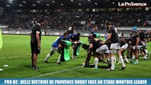 Pro D2 : belle victoire de Provence Rugby face au Stade Montois leader