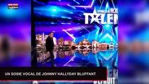 La France a un incroyable talent : Un sosie vocal de Johnny Hallyday bluffe le jury (Vidéo)