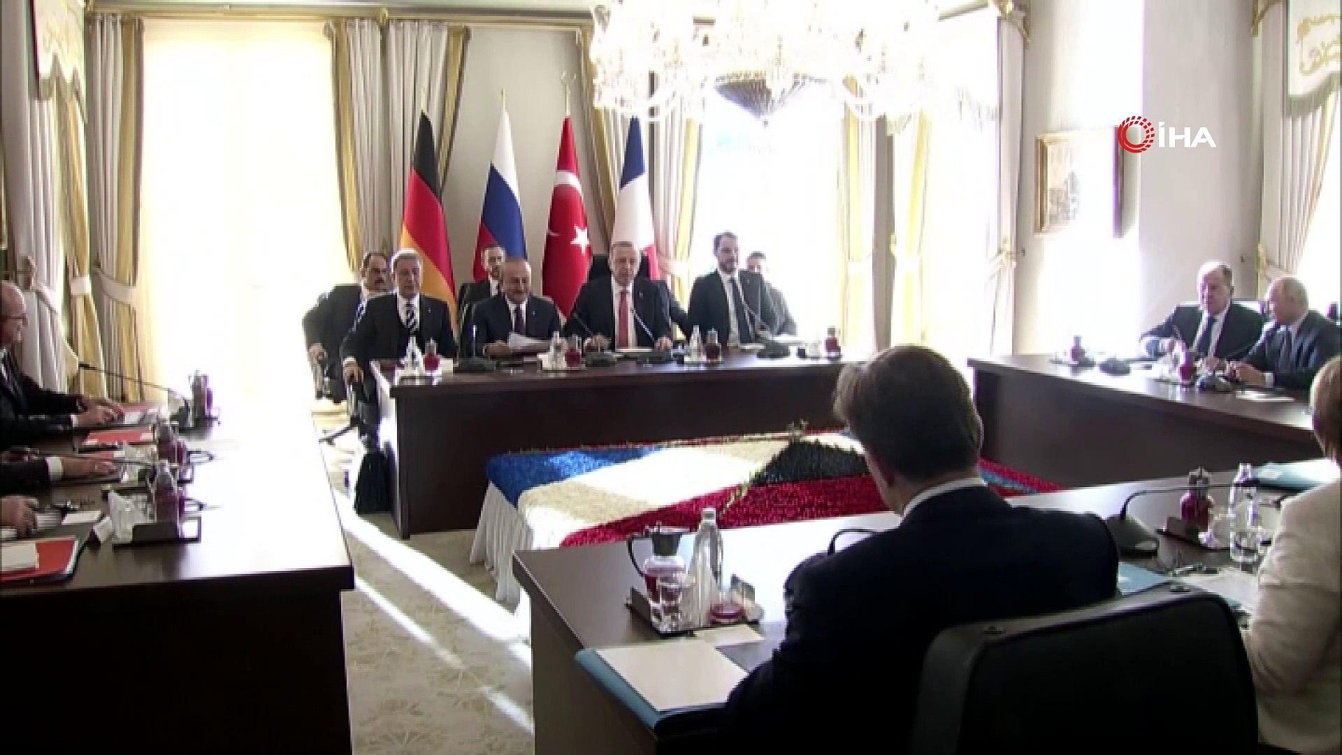 Türkiye'nin ev sahipliğinde Vahdettin Köşkünde Cumhurbaşkanı Recep Tayyip Erdoğan, Rusya Devlet Başk