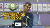 Conférence de presse Grenoble Foot 38 - ESTAC Troyes (0-2) : Philippe  HINSCHBERGER (GF38) - Rui ALMEIDA (ESTAC) - 2018/2019