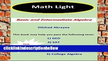 BestproductMath Light: Basic and Intermediate Algebra