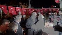 İçişleri Bakanı Süleyman Soylu Silifke'de şehit Ferruh Dikmen'in evini ziyaret etti