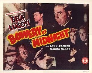Bela Lugosi  Bowery at Midnight (1942)