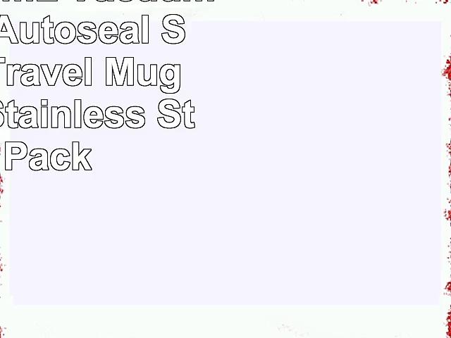 Contigo 473mL VacuumInsulated Autoseal SpillProof Travel Mugs  MonacoStainless Steel 2